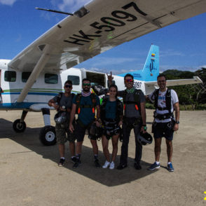 paracaidismo xielo caribe